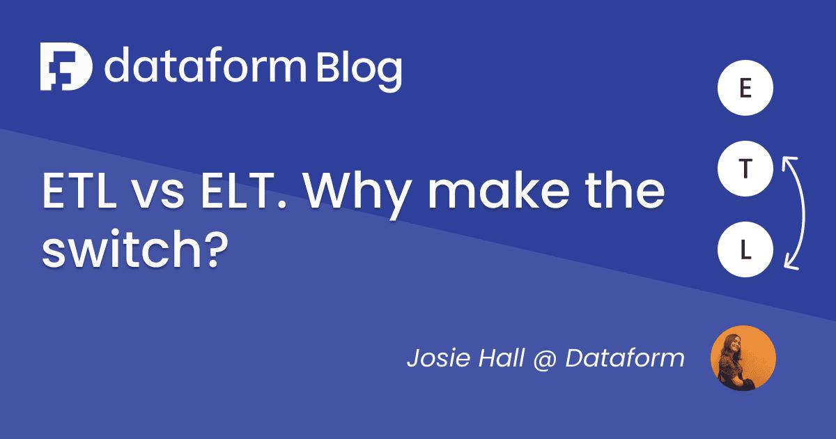 ETL vs ELT. Why make the flip? illustration
