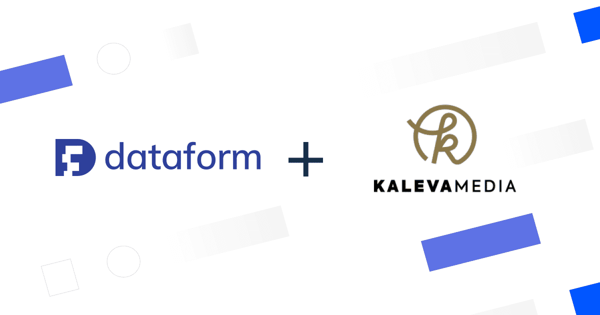 How Kaleva Media used Dataform to leverage the power of Snowflake and scale their processes illustration